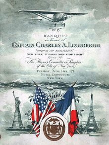 Aviation History - Program cover for the