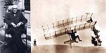 Aviation History - Octave Chanute - Octave Chanute's 1896 biplane hang glider, a trailblazing design adapted by the Wright brothers[2]