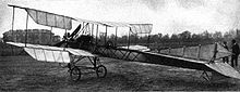 Aviation History - Armand Dufaux - Dufaux 4, March 1911
