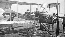 Aviation History - Ernest Failloubaz - Ernest Failloubaz (pilot) and Gustave Lecoultre (observer) demonstrating the Dufaux 5 to the Swiss Army from September 4 to 6, 1911