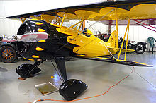 Airplane Picture - Flagg biplane from 1933.