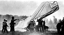 Aviation History - The Wright Brothers - Fort Myer crash. photo by C.H. Claudy