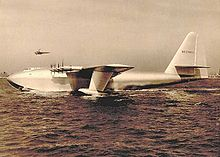 Airplane Picture - The Hughes H-4 Hercules with Howard Hughes at the controls