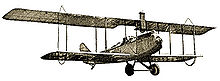 Aviation History - Lincoln Standard biplane