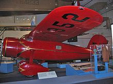Aviation History - Lockheed Vega 5b flown by Amelia Earhart as seen on display at the National Air and Space Museum