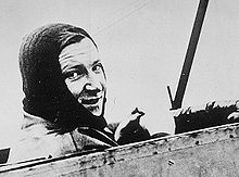 Aviation History - Marcel Brindejonc des Moulinais - In the air.