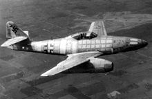 Airplane Picture - Me 262, world first operational jet fighter