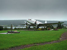 Aviation History - Monument in Harbour Grace, Newfoundland and Labrador