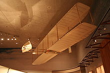 Airplane Picture - Replica of 1902 Wright Glider on display at the Smithsonian National Air and Space Museum