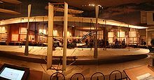 Aviation History - The Wright Brothers - Original 1903 Wright Flyer in the National Air and Space Museum in Washington, D.C.