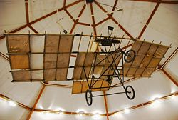 Aviation History - Richard Pearse - A replica of Pearse's monoplane