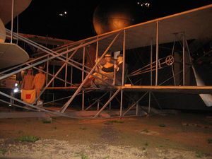 Airplane Picture - A replica Wright Military Flyer at the National Museum of the United States Air Force