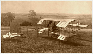 Airplane Picture - Duigan Pusher Biplane
