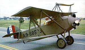 Aviation History - Alfred V. Verville - Verville Sperry M-1 Messenger