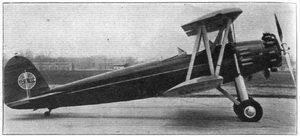 Aviation History - Alfred V. Verville - Verville Sport Trainer