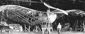 Aviation History - Lyman Gilmore - Gilmore's second, larger plane