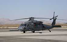Helicopter Picture - USAF HH-60G at Fox Field, Lancaster, California