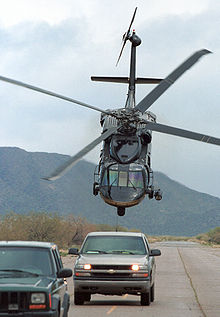 Helicopter Picture - US Customs and Border Protection Blackhawk