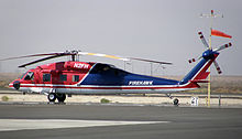 Helicopter Picture - S-70C Firehawk operated by Brainerd Helicopters, at Fox Field, Lancaster, California