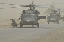 Helicopter Picture - UH-60L from B Company (