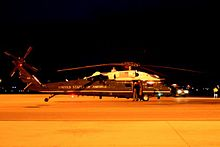 Helicopter Picture - VH-60N used to transport the President of the United States