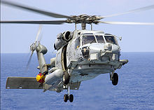 Helicopter Picture - US Navy SH-60B Seahawk