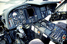 Helicopter Picture - A cockpit view of a UH-60