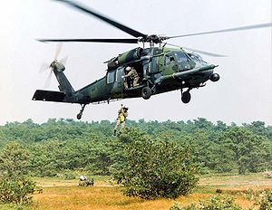 Helicopter Picture - USAF HH-60G Pave Hawk helicopter