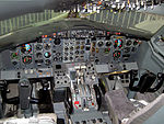 Airplane Picture - Early 737-200 cockpit