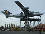 Airplane Picture - Boeing 747-200B on display at the Technikmuseum Speyer in Germany.