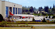 Airplane Picture - An Air India Boeing 777-200LR is rolled out of the Boeing Everett Factory