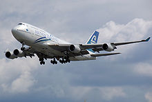 Airplane Picture - Air New Zealand 747-400