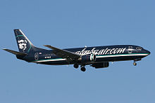 Airplane Picture - Alaska Airlines 737-400