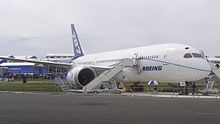 Airplane Picture - The first 787 to visit Europe, ZA003 on display at the 2010 Farnborough Airshow