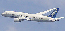 Airplane Picture - The Boeing 787-8, the first model of the aircraft under production