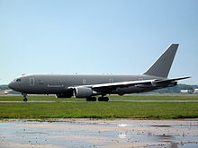 Airplane Picture - An Italian Air Force KC-767A before delivery at Boeing's Wichita, Kansas facility in 2009