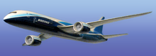 Airplane Picture - Earlier proposed design configuration of the Boeing 7E7.