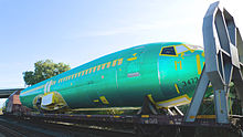 Airplane Picture - Boeing 737NG fuselage