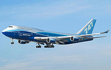 Airplane Picture - Boeing 747-400 in Boeing livery