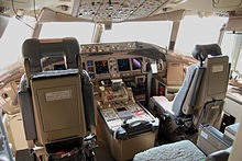 Airplane Picture - Glass cockpit of an American Airlines 777-200ER
