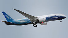 Airplane Picture - Takeoff of the first Boeing 787 built on its maiden flight