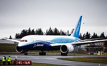 Airplane Picture - The first Boeing 787 underwent taxi tests at Paine Field in November and December 2009.