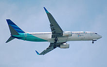 Airplane Picture - Boeing 737-800 of Garuda Indonesia