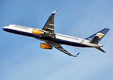Airplane Picture - Icelandair 757-200WL with winglets taking off
