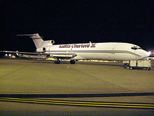 Airplane Picture - A Kalitta Charters II 727-200, parked at LEX airport, Lexington, KY