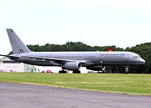 Airplane Picture - Royal New Zealand Air Force 757-200 (NZ7572)