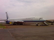 Airplane Picture - Retired South African Air Force Boeing 707-328C at the South African Air Force Museum, Pretoria