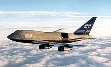 Airplane Picture - 747SP prior to conversion into the SOFIA astronomical observatory in 1997. Note former United Airlines livery.