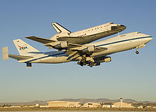 Airplane Picture - A Shuttle Carrier Aircraft, a modified 747-100SR