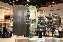 Airplane Picture - The General Electric GEnx engine for the 747-8/787 on display at the 2009 Paris Air Show